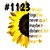 Waterslides Sunflowers and Succulent Sayings #1112 - #1124 Laser Printed