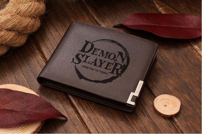 Kimetsu no Yaiba Demon Slayer Leather Wallet