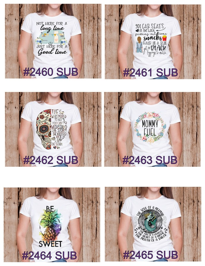 """Sublimation """"Here For A Good Time"""""""
