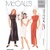 McCall's 7412 Misses Asian Style Dress, Pants 90s Vintage Sewing Pattern Uncut