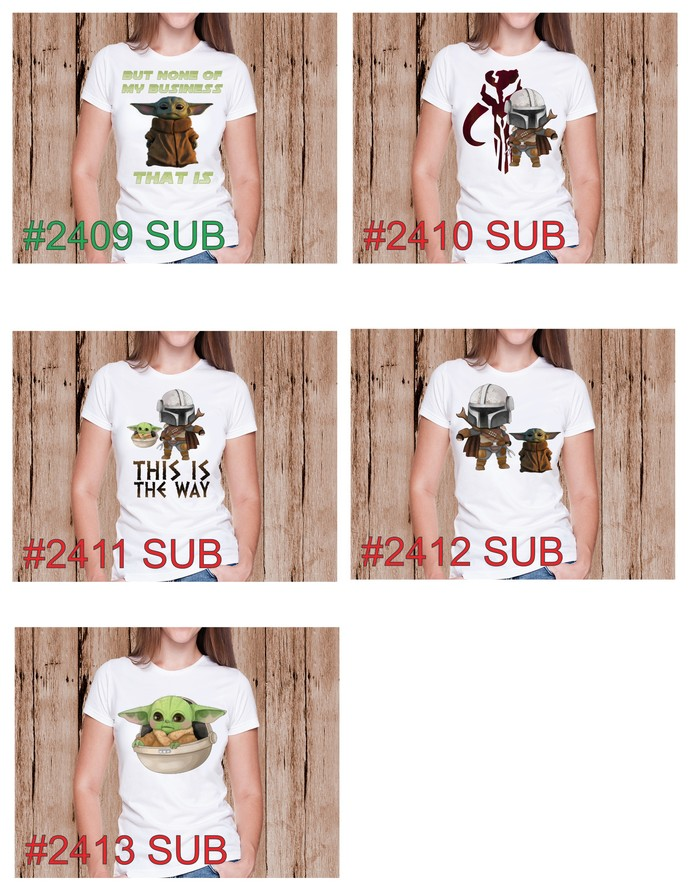 """Sublimation """"This is the Way"""""""
