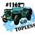 Waterslides Topless Jeeps #1158 - #1164 Laser Printed