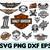 20+ FILES Harley Davidson BUNDLE SVG,png,dxf,harley davidson logo