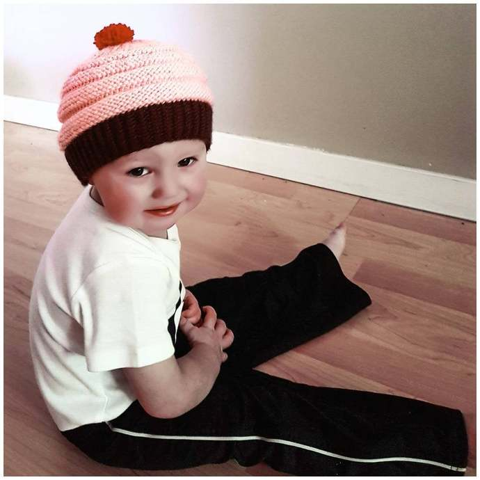 Cherry on Top Baby Toque Knitting Pattern (Digital Copy)