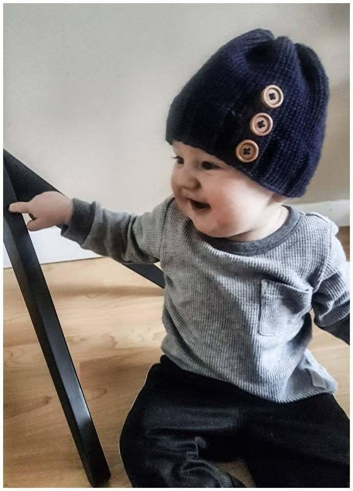 City Life Baby Toque Knitting Pattern (Digital Copy)