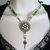 Victorian Necklace, handmade jewelry key steampunk renaissance edwardian gothic