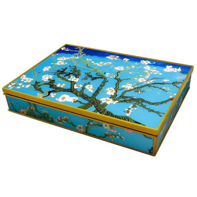 Handmade Jewelry Storage Box for Women 100% customizable, Van Gogh Almond