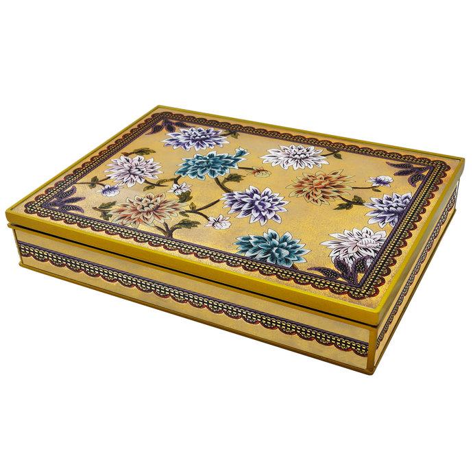 Gift for Girls, Customizable Decorative Jewelry Box - Large Lilium Flowers -