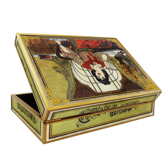 Wedding Gift Box - Art Nouveau Barcelona Chocolate - Rectangular box with