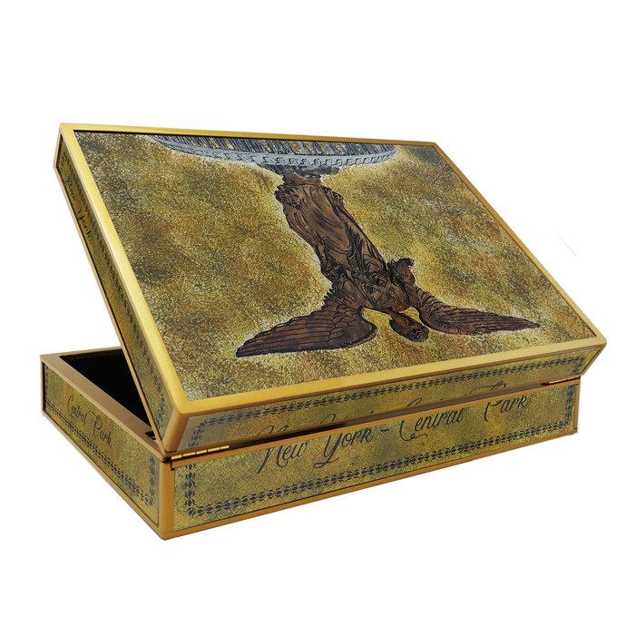 Custom Box for Tea - New York Central Park Bethesda Fountain - Rectangular box