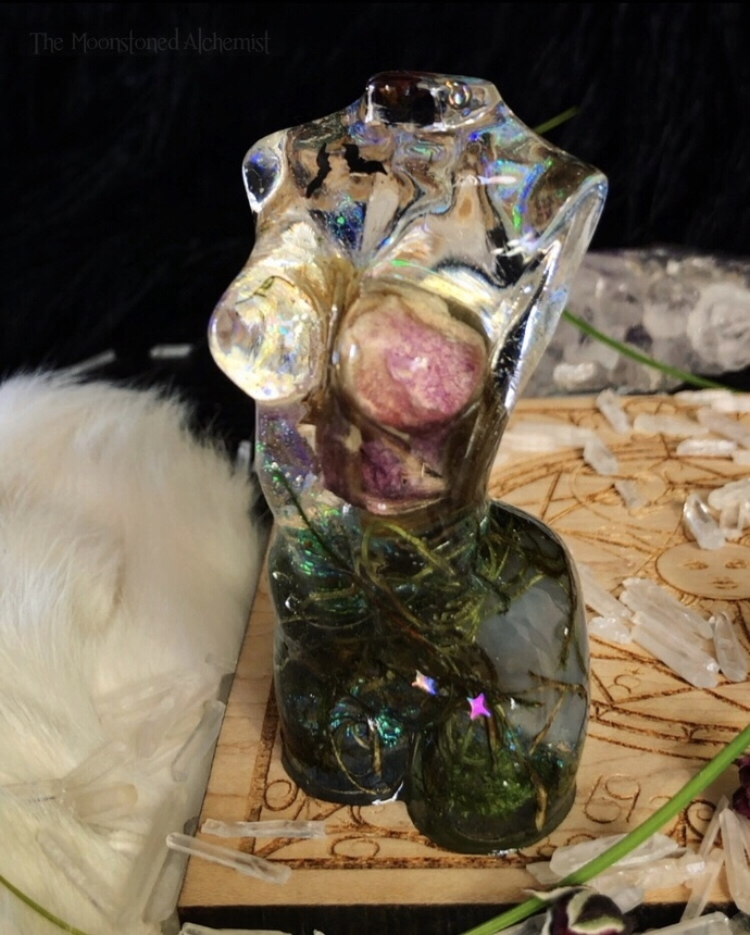Botanical Babes • Celestial Bodiez Infused with Agate and blooming catkin