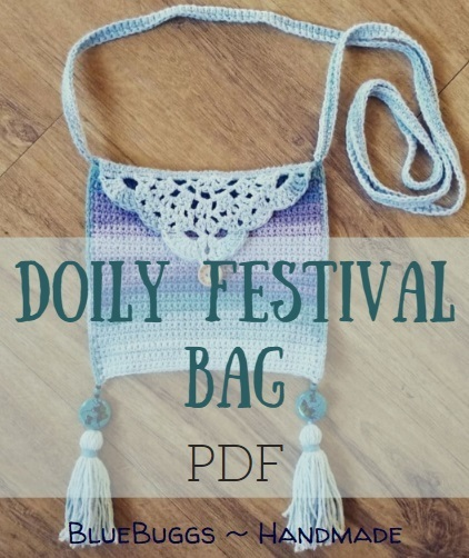 Doily Festival Bag - PDF Download Only