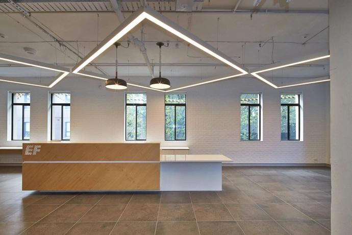 MODERN OFFICE 40W LED SLIM 4FT LINEAR LIGHT | ALUMINIUM