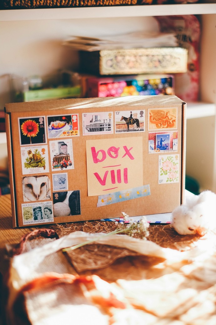 *PRE-ORDER* YEARLY Stationery treasure BOX (VIII-XII)- bi-monthly subscription