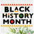 Black Month History Martin Font svg png jpg dxf eps clipart cutting files