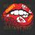 Lips Kansas City Chiefs design Football Lipstick design printable shirt svg png