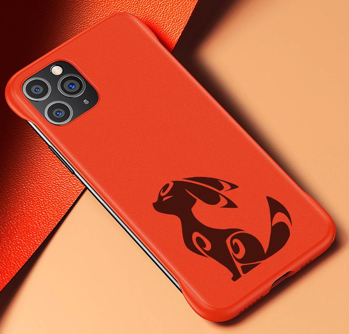 POKEMON UMBREON Iphone 11 / 11 PRO / 11 PRO MAX / X / XS / XS MAX / XR Leather