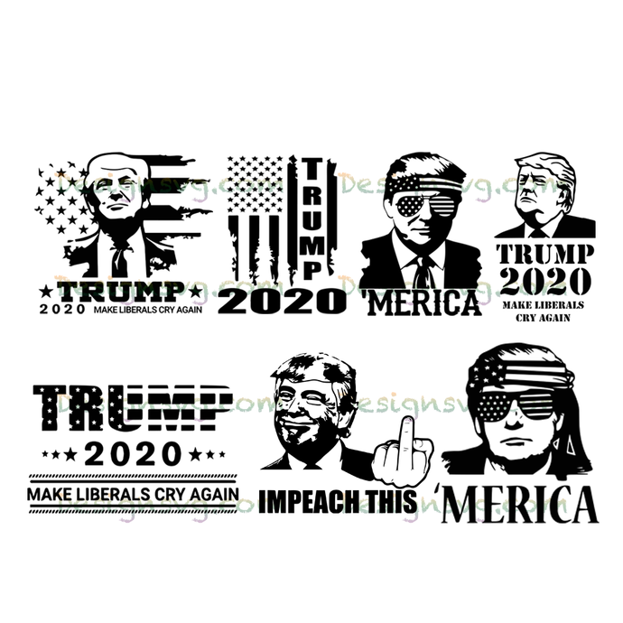 Trump 2020 Make Liberals Cry Again American Flag Design Election 2020 Distressed
