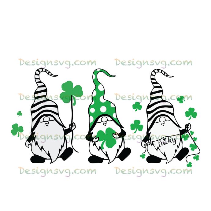 Three gnomies svg | St Patricks Day SVG | St Patricks Day mug | Svg | Lucky