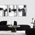 Minimalist Art, Minimalist Wall Art, Abstract Art set of 3, Black and White Wall