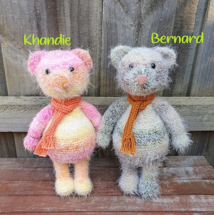 DEMO STOCK SALE - Khandie & Bernard the Bear - BIG
