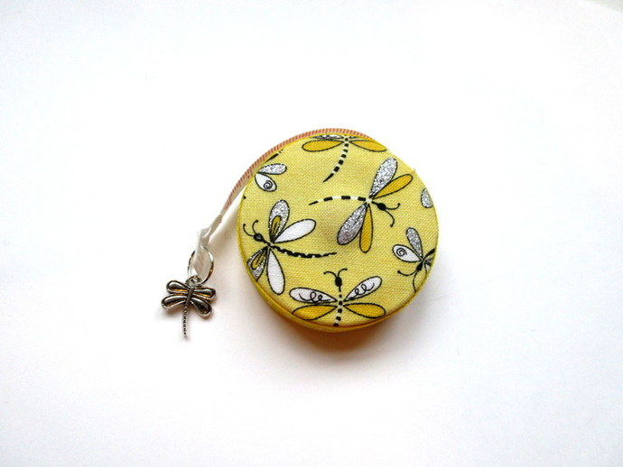 Measuring Tape Nature's Dragonflies Retractable Small Tape Measure