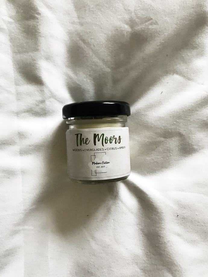 The Moors - 1.5oz Candle - Wuthering Heights Inspired - Scented Soy Candle -