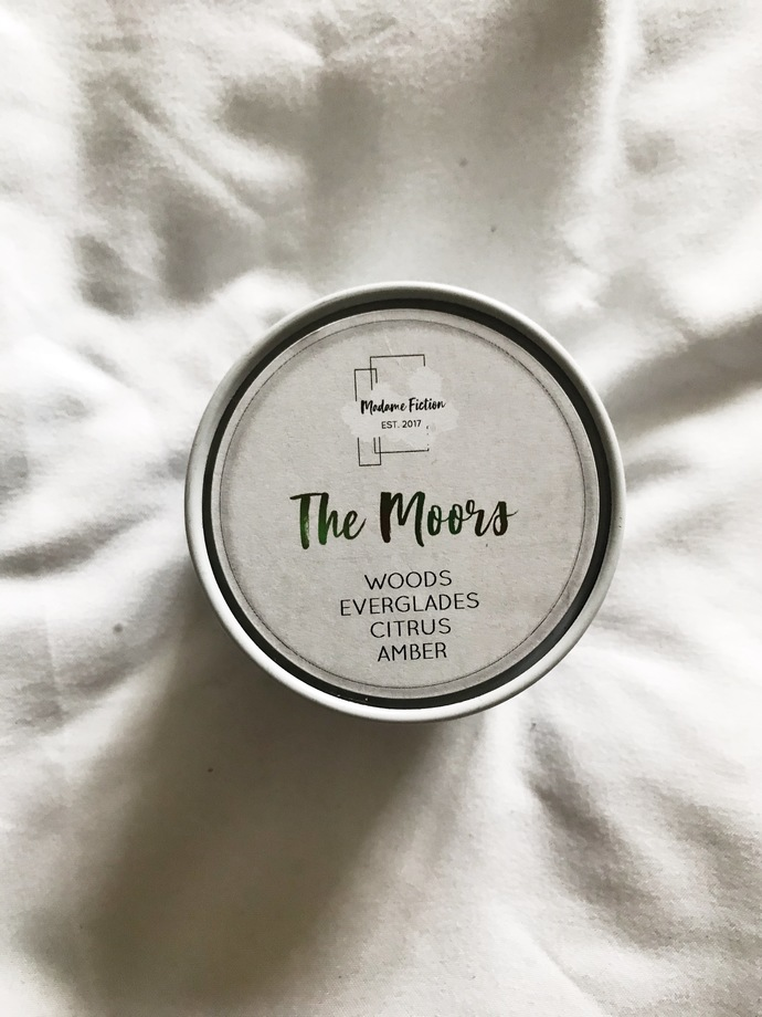 The Moors - 4oz Candle - Wuthering Heights Inspired - Scented Soy Candle - Book