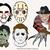 Classic horros movie killer bundle svg files, Freddy Krueger clip art, svg cut