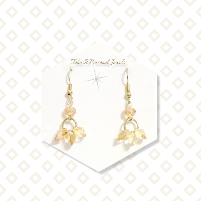 Swarovski Crystal  Earrings Dangle Handmade Jewelry