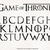 Game of Thrones svg, Game of Thrones letters svg, Game of Thrones svg, abc clip