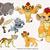 The Lion Guard bundle svg files, The Lion Guard svg characters, clip art,