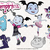 Vampirina bundle svg files, Vampirina svg characters, clip art, cutfiles eps,