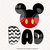 Mickey dad svg files, Mickey clip art, mickey svg cut files dxf, eps png files,