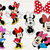 Minnie bundlesvg files, Minnie mouse clip art, Minnie svg cut files dxf, eps png