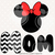 Minnie mom svg files, Minnie clip art, Minnie svg cut files dxf, eps png files,