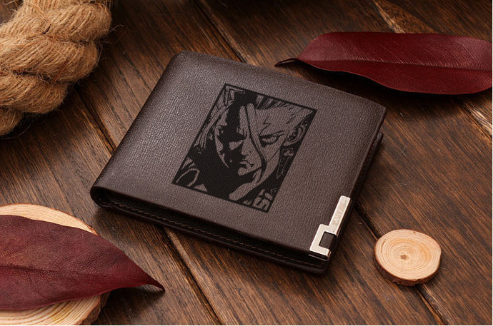 Dr.Stone Leather Wallet