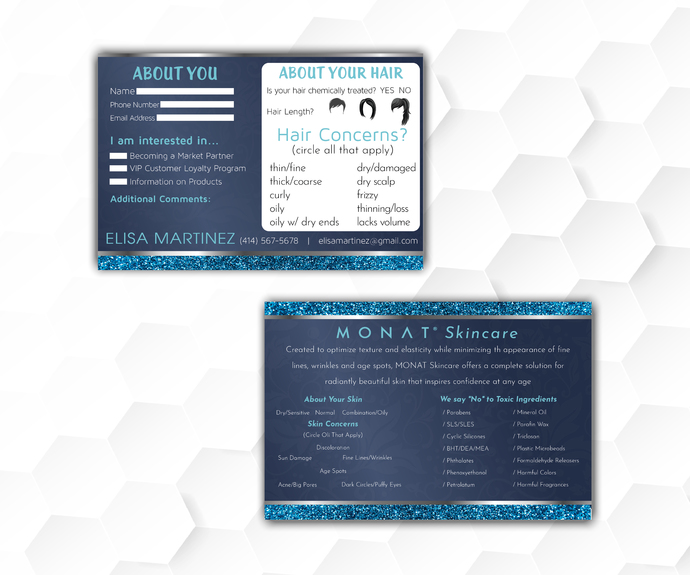Monat Hair Care Questionnaire Monat Skin Care By Digitalart On Zibbet