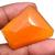 Faceted Carnelian 35x30 mm Semi Precious Loose Gemstone ,Carnelian Faceted