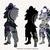 Raven skin svg, dxf, eps, png files, Clipart, cut files, Battle royale svg dxf,