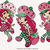 Strawberry Shortcake svg, dxf, eps, png files, Clipart, cut files, Strawberry