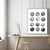 minimalism art, Abstract Paintings, Black And White, Large Wall Art, Modern