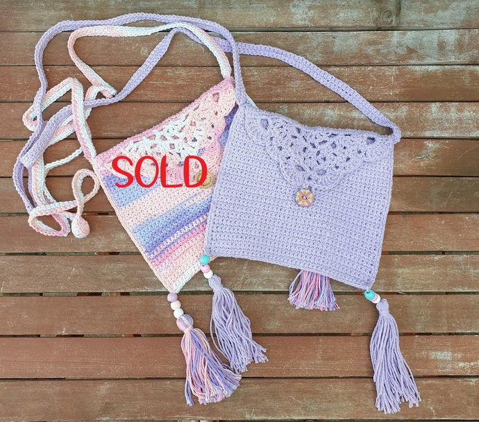 DEMO STOCK SALE - Doily Festival Bags