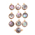 Gold platted silver Bazel Freshwater Pearl Pendant gemstone suppliers