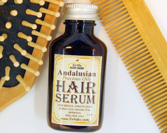 Shiny Smooth Hair Serum for Strong Hair, Smooths Frizzy Hair, Defines Curls,