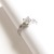 US 6 - 925 Sterling Silver Ring with stone Cubic Zirconia, Engagement Ring,
