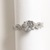 US 7.5 - 925 Sterling Silver Ring with stone Cubic Zirconia, Engagement Ring,