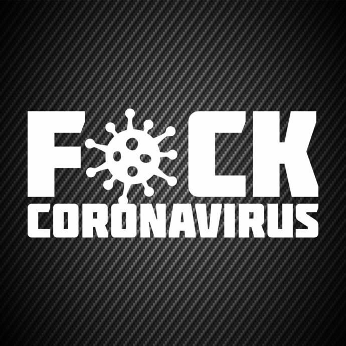 car00323  Coronavirus epidemic Car stickers, Car decals, Bumper stickers, Jeep