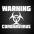 car00324 Warning Coronavirus epidemic Car stickers, Car decals, Bumper stickers,
