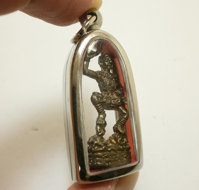 Nezha 哪吒 Chinese Protection deity pendant magic Naja talisman Marshal of the